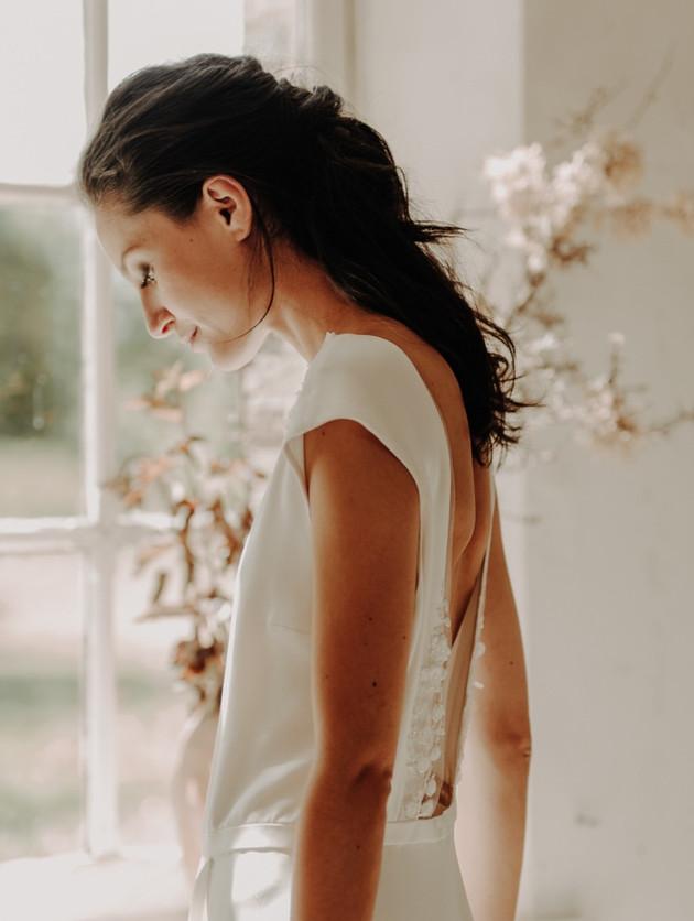 Fanny Sathoud robe Jade