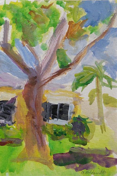 At Home original painting