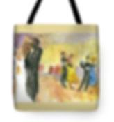 Balllroom Dancer Tote Bag
