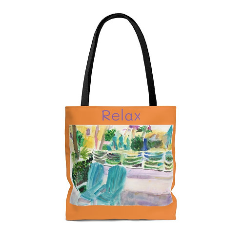 Hollywood Beach Tote Bag by Andrea Goldsmith