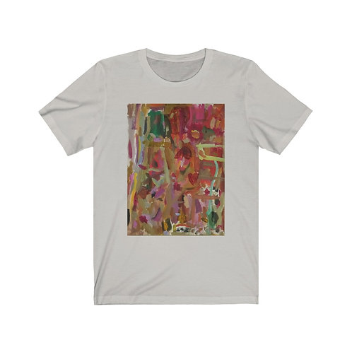Unisex Short Sleeve T-Shirt for Valentine's Day Love Is Here To Stay