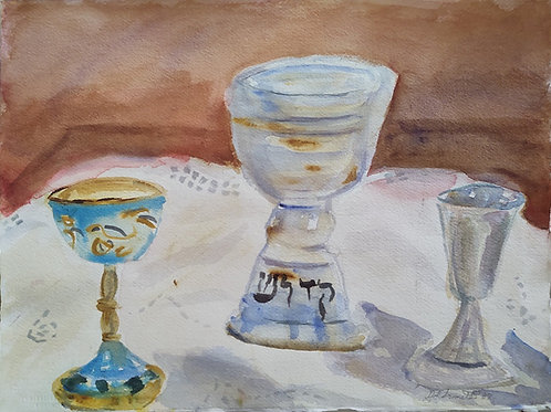 Sabbath Prayer original painting