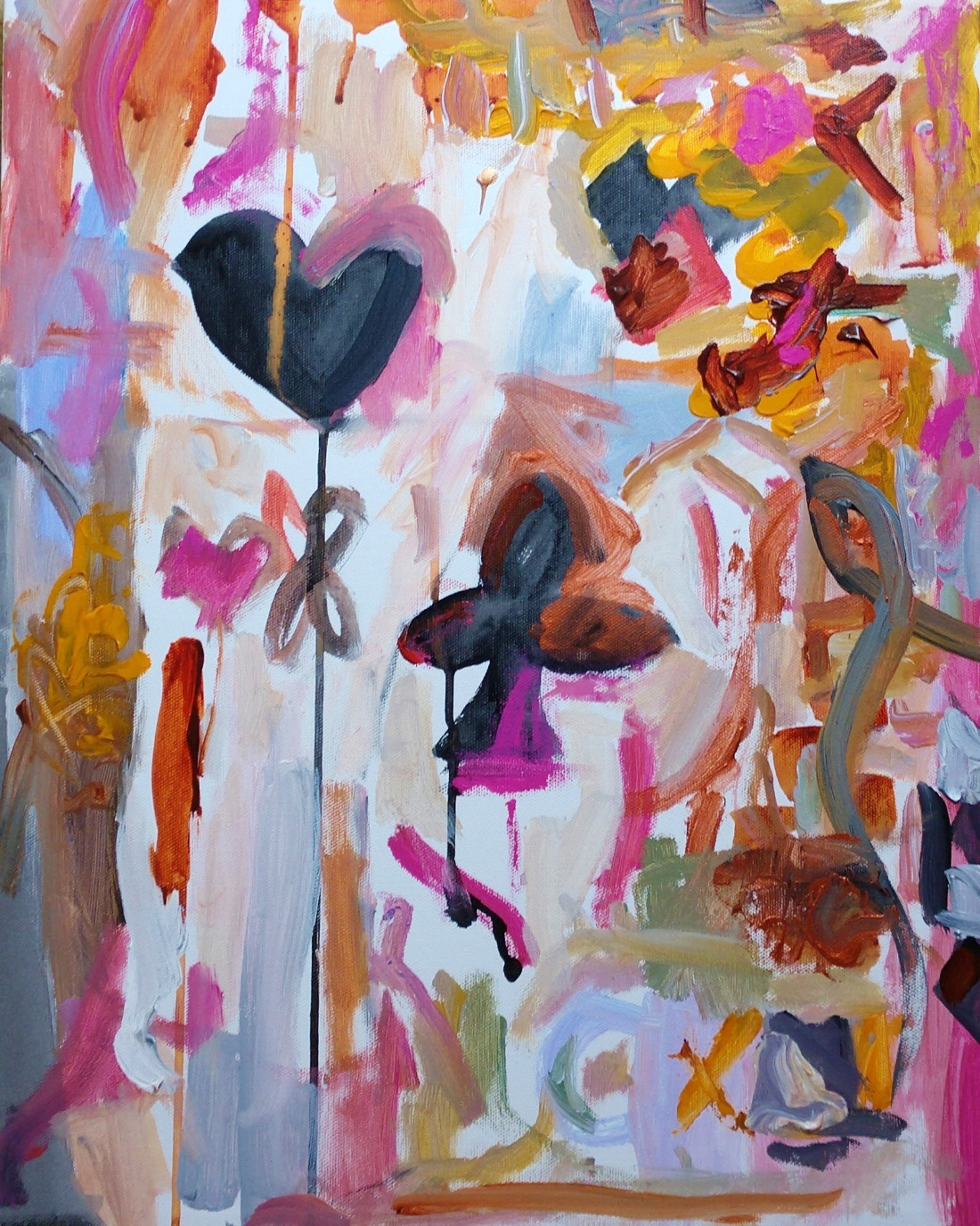 Jubilee fine art painting by Andrea Goldsmith