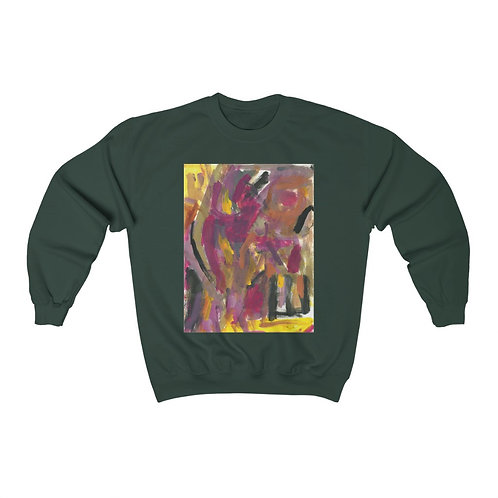 Unisex Heavy Blend™ Crewneck Sweatshirt Love Flowers