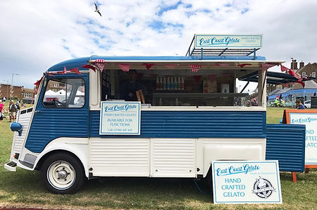""" Ice Cream for weddings events in Norfolk"""