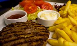 Hamburger dello chef