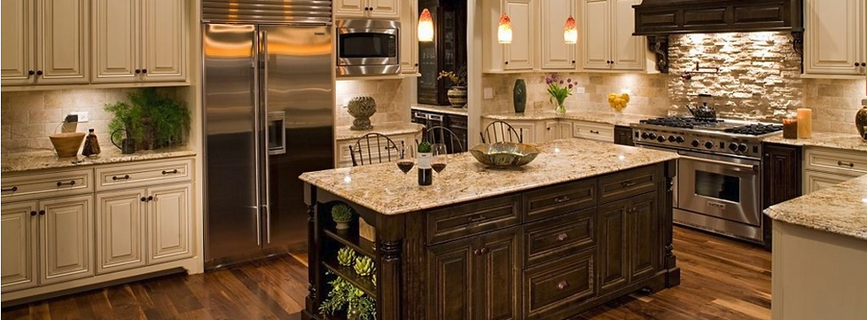 cabinets and granite - home design ideas and pictures