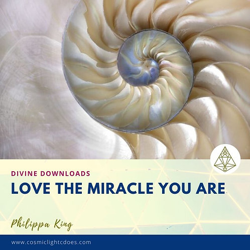 Divine Downloads - Love The Miracle You Are