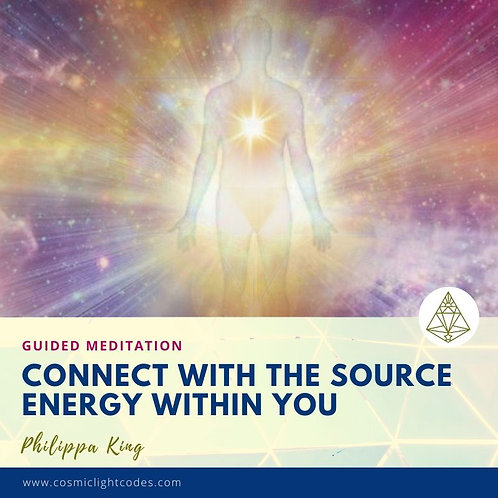 Guided Meditation - Connecting with The Source Energy Within
