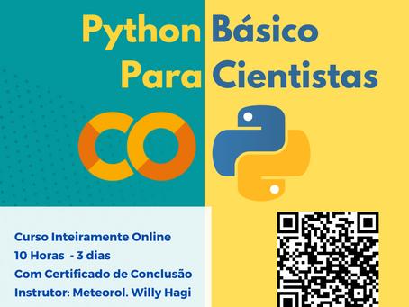 Curso - Python Básico para Cientistas