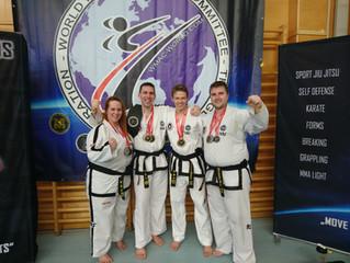 2 Staatsmeistertitel im Kickboxen für ITF-Austria