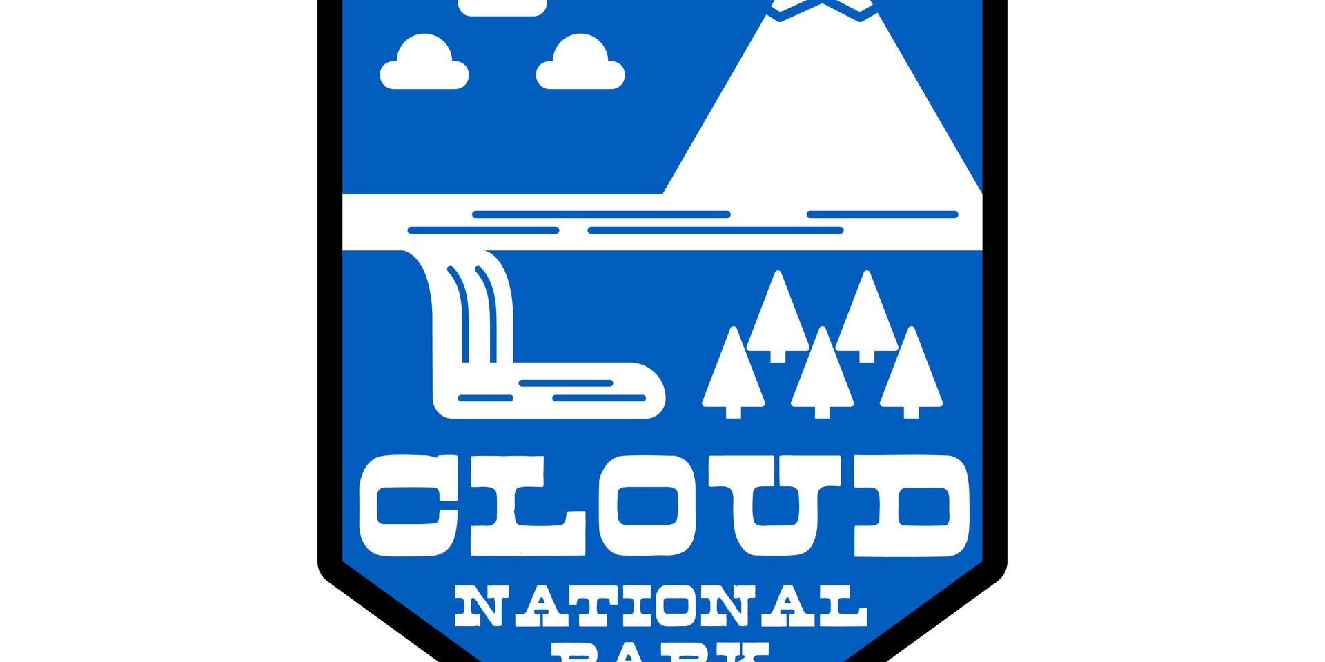 cloud national park logo