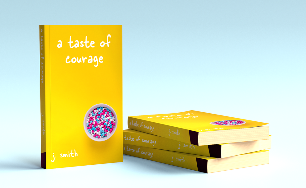 a taste of courage book cover