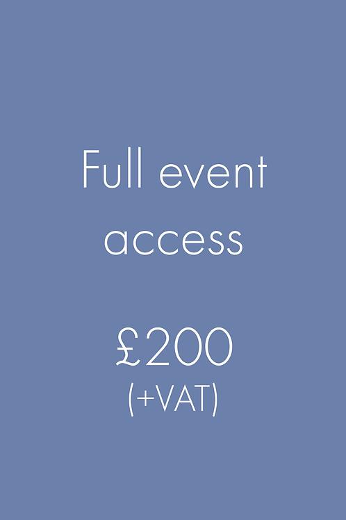 Full event access