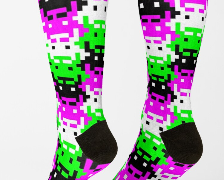 space raider socks