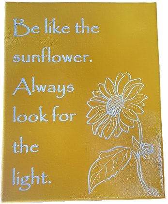 Be Like the Sunflower