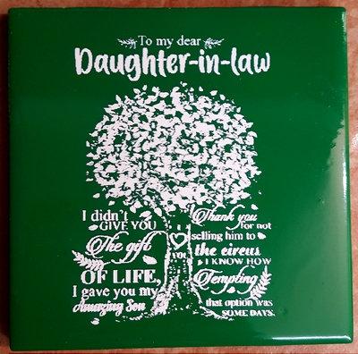 Dear Daughter-In-Law