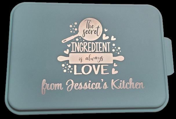 Engraved Baking Pan - Secret Ingredient