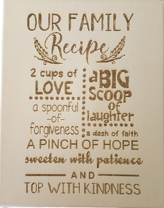 Our Family Recipe
