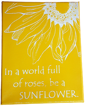 Be A Sunflower