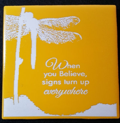 Dragonfly Believe Signs