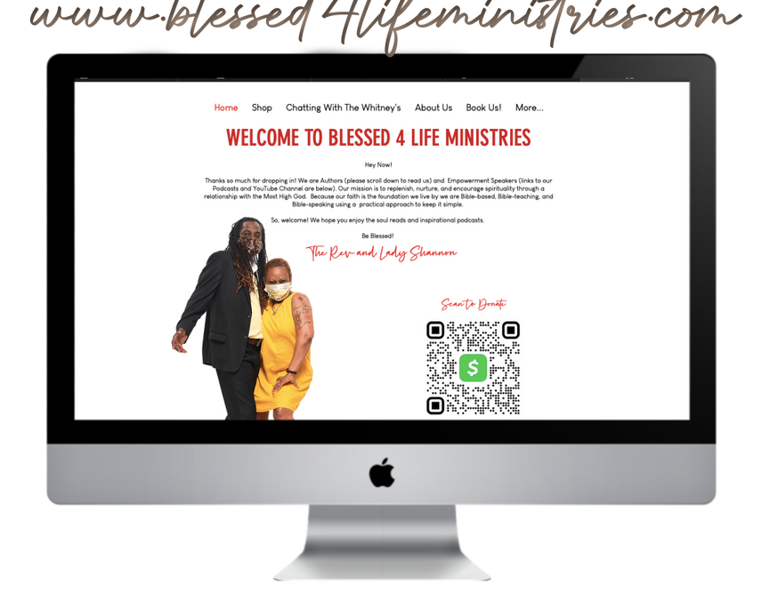 Blessed 4 Life Ministries, B4LM.