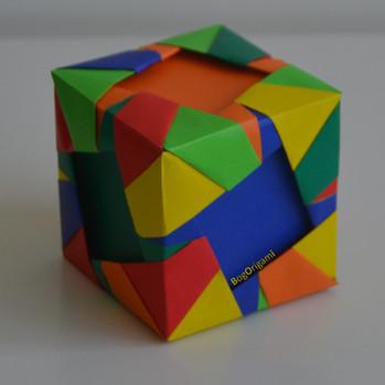 Pinwheel cube - Type B