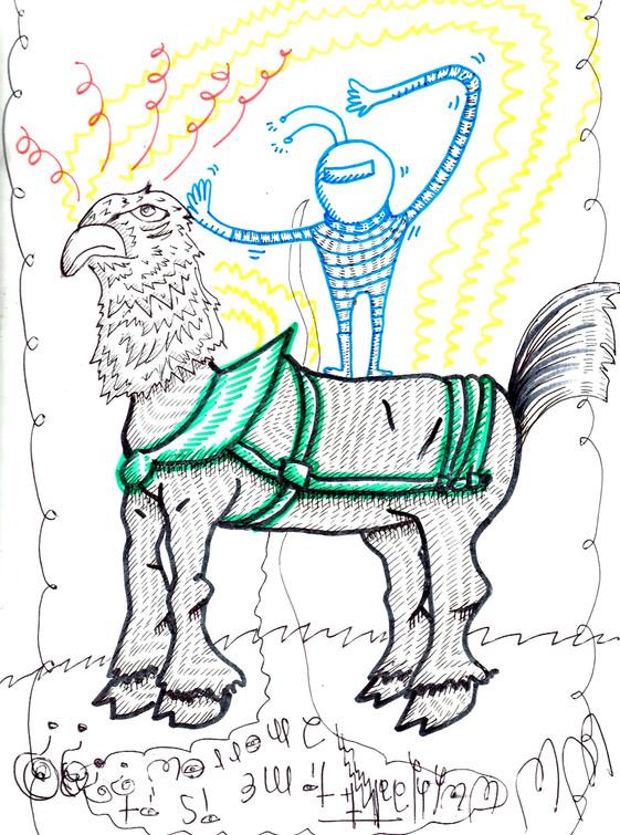 INERGALACTIC EAGLEHORSE