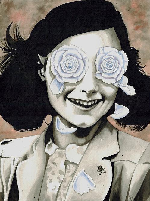 White Roses in Her Eyes 11x14 Print