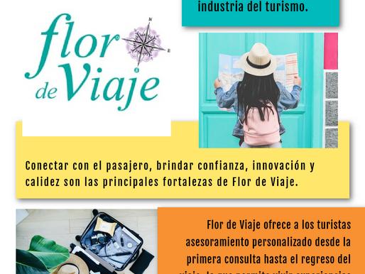 """Flor de Viaje: Sponsor Tranca campaña """"Turismo Tranca"""""""