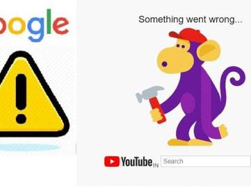 Google, Gmail, DOCs, Youtube सब डाउन