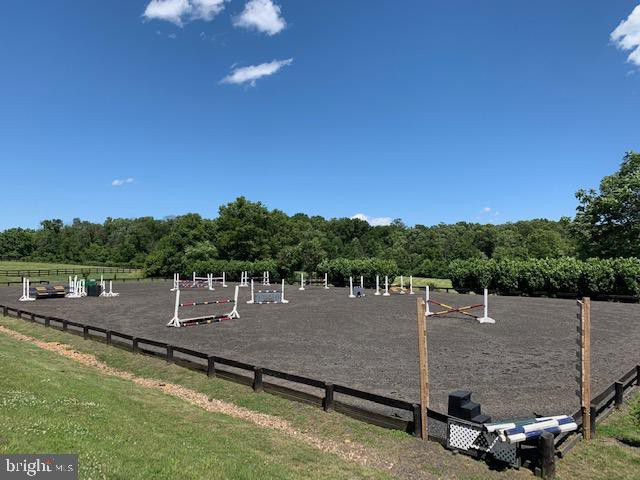 The outdoor arena at KT Eventing