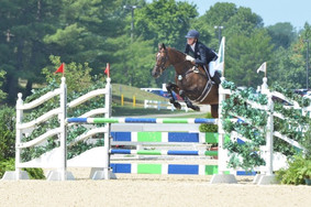 Kendyl and Ever So Lucky at the 2012 NAJYRC