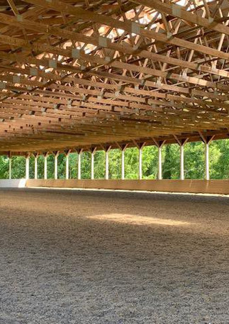 The covered arena at KT Eventing