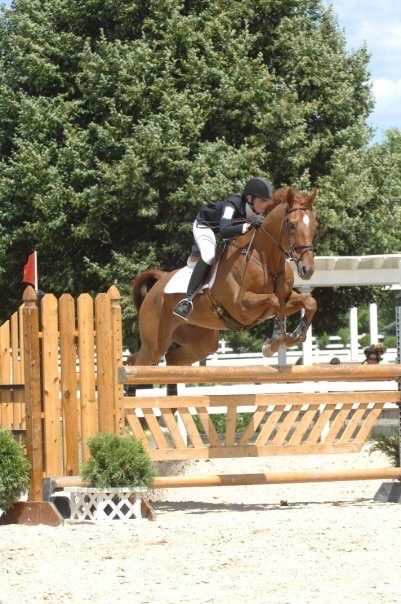 Competing at the Jersey Fresh CCI3*-L