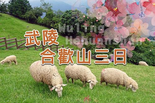 武陵合歡山三日(花季假日,單人雅房,環山-埔里)
