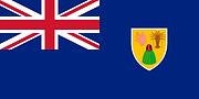 土克凱可群島(英國海外領地) 國旗 the Turks and Caicos I