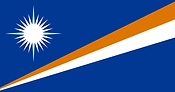 馬紹爾群島 國旗 Republic of the Marshall Island