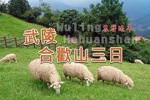 武陵合歡山三日(農曆過年,2或3人房,環山-埔里)