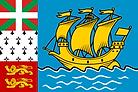 聖皮埃與密克隆群島(法國海外行政區)國旗 Saint-Pierre and M