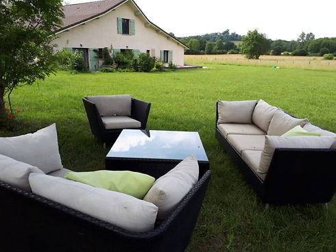 garden furniture available