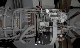 Boeing 767 Aircraft Engine
