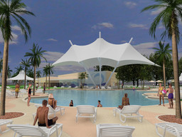 UCF student pool facility