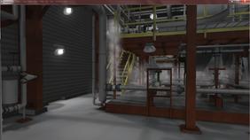 Oil Refinery Interior