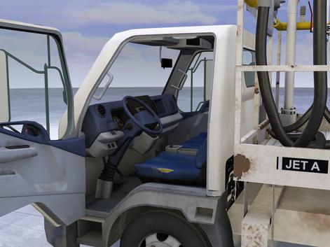 Fuel Truck Interior