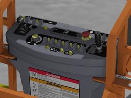 JLG Lift Control Panel