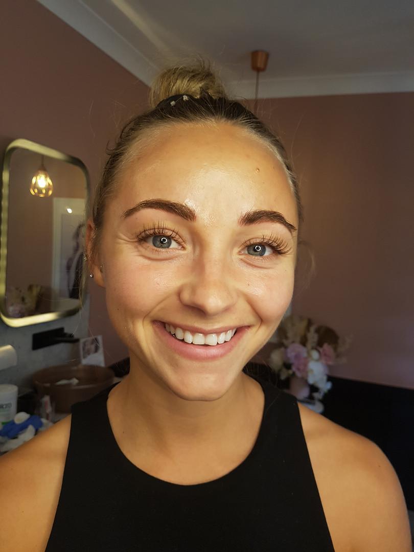 Lauren Brow Feathering