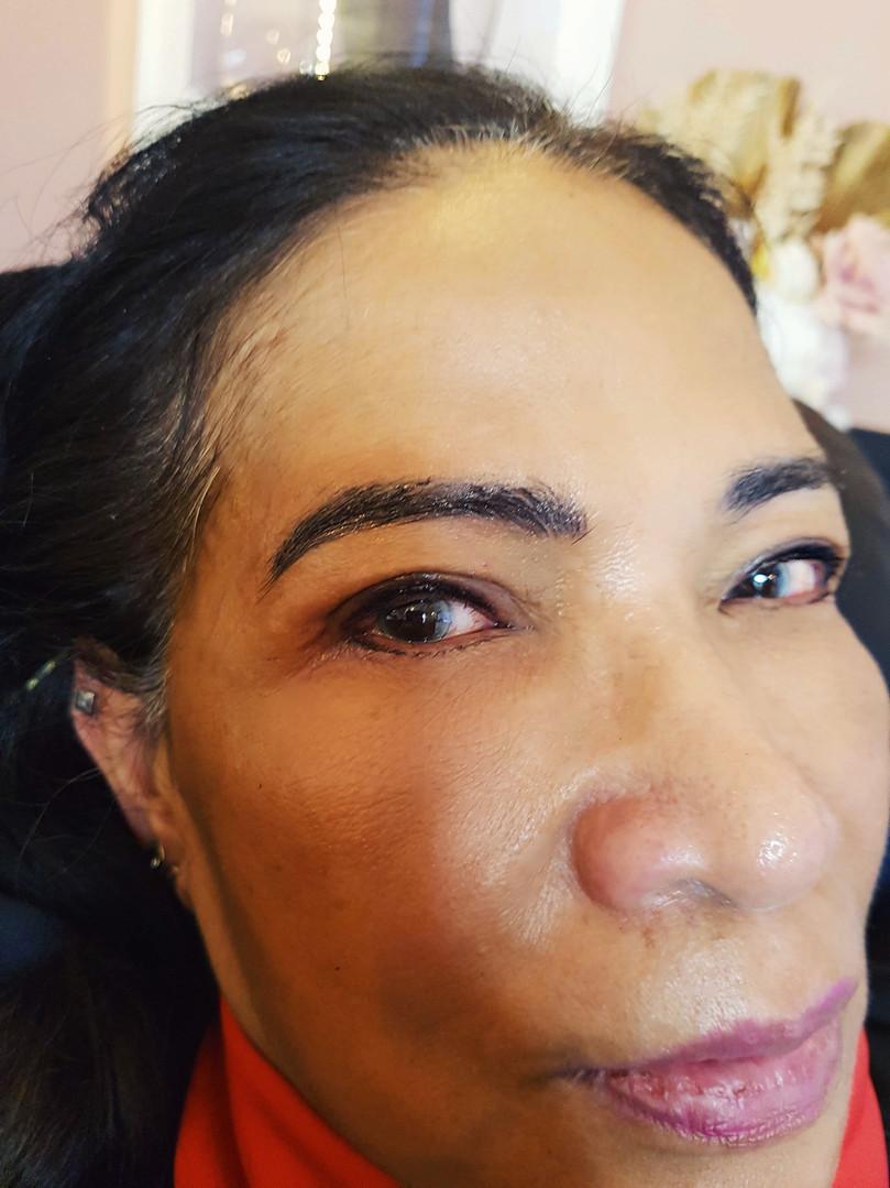 Gilda Eyeliner Tattoo