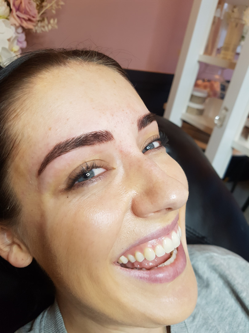 Bridgette Brow Feathering