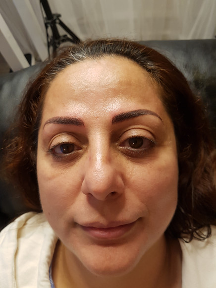 Fadia Brow Feathering